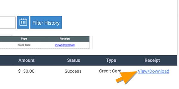 visme payment history