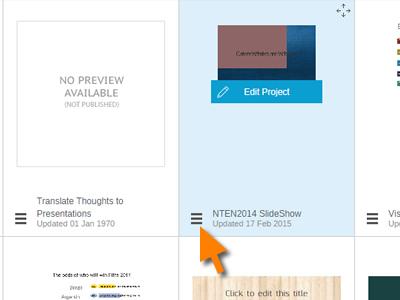 Delete a Visme Project