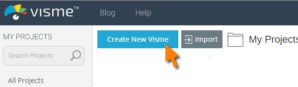 Create a new Visme