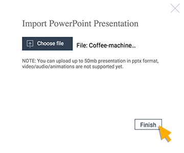 how to import pdf into powerpoint