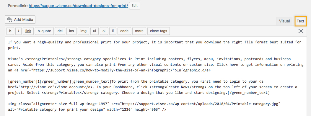 Embed Code to WordPress